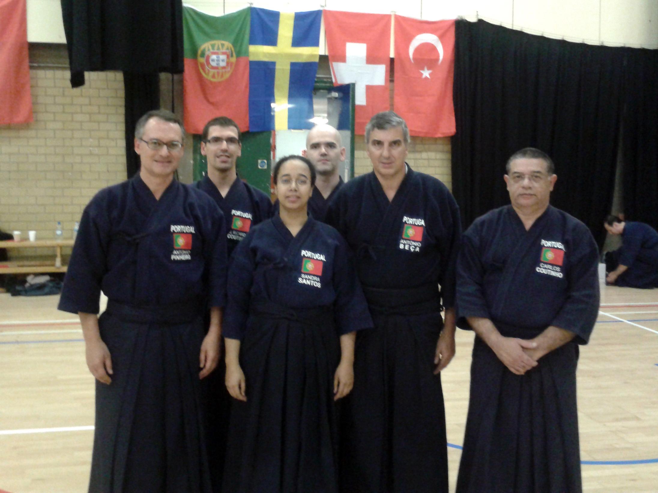 Seleção Nacional de Jodo nos Campeonatos Europeus de Stevenage, 2011
