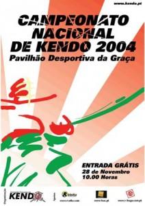 Cartaz Campeonato Kendo 2004